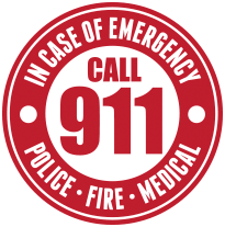 Dial 911 to report an emergency.