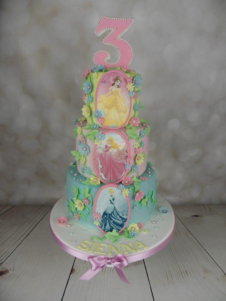 Disney Princess 3rd Birthday Cake Mels Amazing Cakes