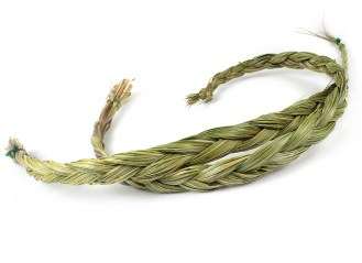 Ceremonial-Herbs-Sweetgrass-Braid