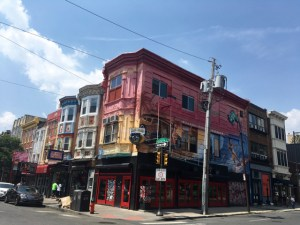 best coffee cities in the United States_Philly_colored houses