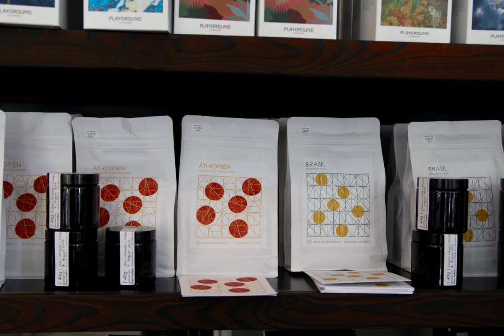 Your walking guide to specialty coffee in Berlin Kreuzberg part 2_nano kaffee_coffee range