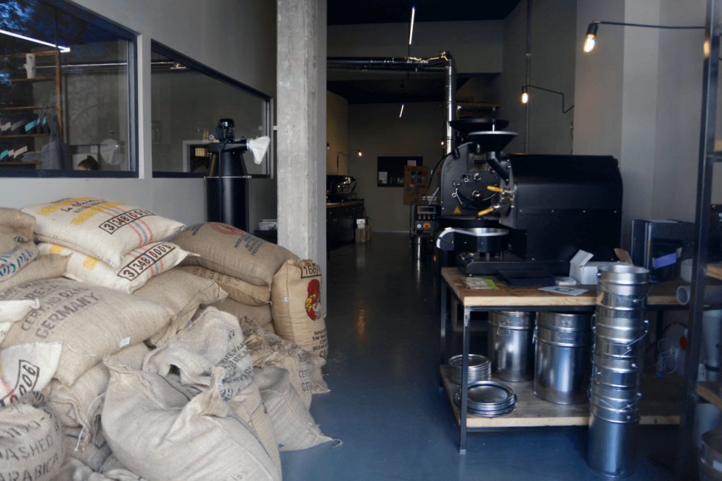 Your walking guide to specialty coffee in Berlin Kreuzberg part 2_kaffeekirsche_roastery