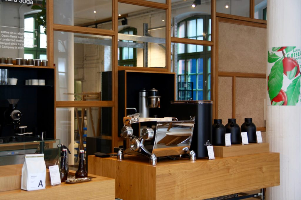 Your walking guide to specialty coffee in Berlin Kreuzberg part 2_bonanza_slayer coffee machine