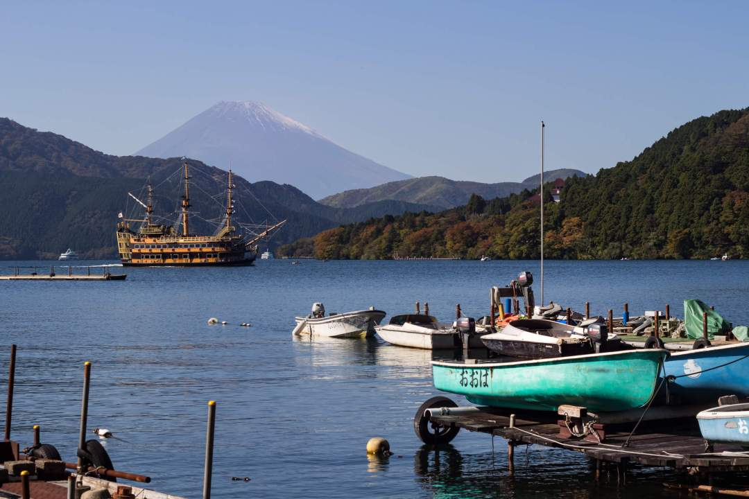 how to not get over caffeinated in Tokyo_hakone with fuji view