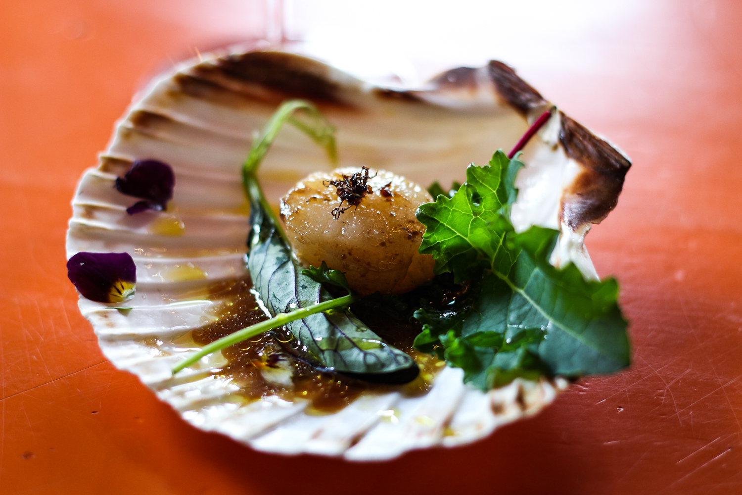 coffee-food-pairing-dinner-experience-seafood-scallop