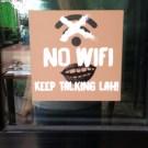 Get off your phones!