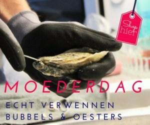 """Moederdag 6x inspiratie Bubbels & oesters. Verwen mij op Moederdag met oesters & bubbels en ik ben de gelukkigste (stief)moeder. Serveer de oesters op een m"""""""