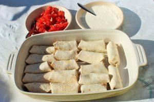 Mexicaanse verjaardagshapjes - Mini burrito - hapjes - Mels Feestje