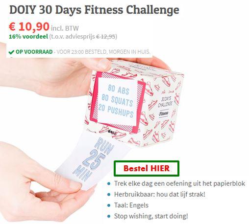 """DIY 30 dagen challenge - pak elke dag een nieuwe opdracht - grappig cadeau idee voor Vaderdag - Mels Feestje en Feestdagen"""""""