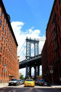 """Foto uitzicht vanuit Brooklyn over de Brooklyn bridge - deze moet bij mijn Instagram rijtje fotos - mels Feestje en New York"""""""