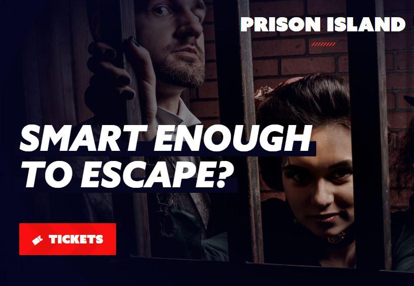 PRISON ISLAND KAARTJES