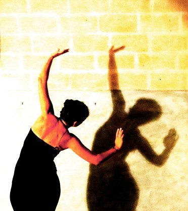 dancing with the shadow