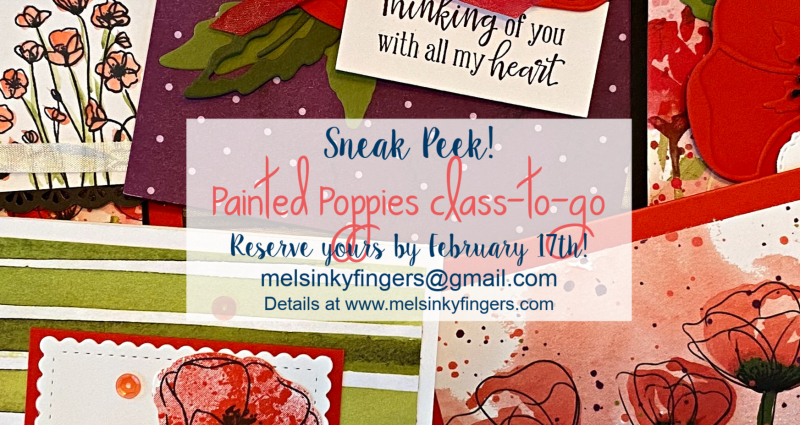 Poppies Class Sneak Peek