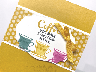 Nothing's Better Than 3D Tutorial Bundle Tasteful Labels Stampin' Up! Mel's Inky Fingers Bumblebee