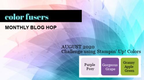 Color fusers august 2020 color challenge