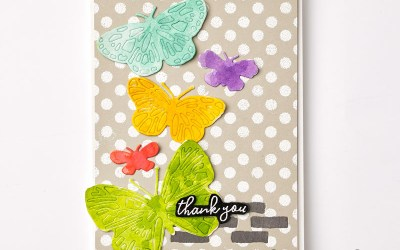Butterfly Bouquet Product Release: Maker's Mojo Butterfly Bouquet Stamp Camp To-Go