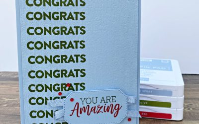 Color Fusers Blog Hop April 2021 You Are Amazing Graduation Card