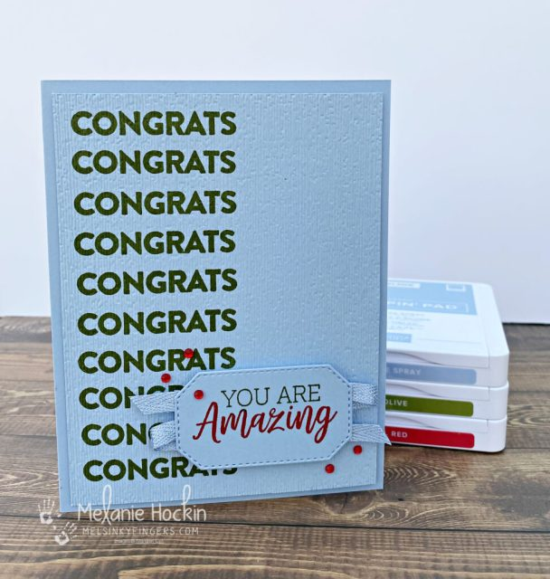 Color Fusers Blog Hop April 2021 graduation card using the you are amazing stamp set.  original card by Melanie Hockin of Mel's inky fingers.