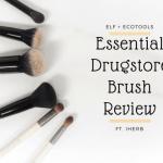 essential drugstore brush review1 e1612595637300 ELF + Ecotools Essential Drugstore Brushes Review ft. iHerb
