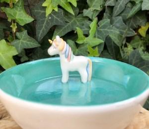 unicorn jewelry bowl
