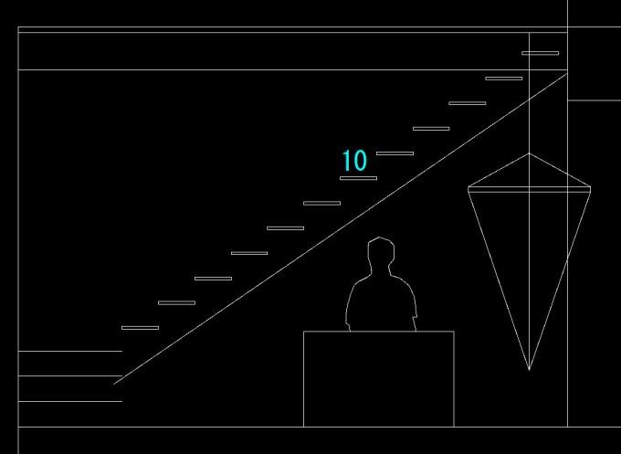 階段とハンモック