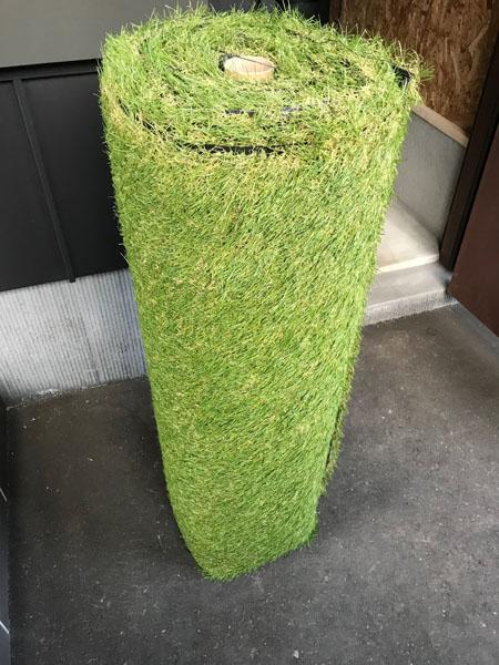 人工芝をDIY