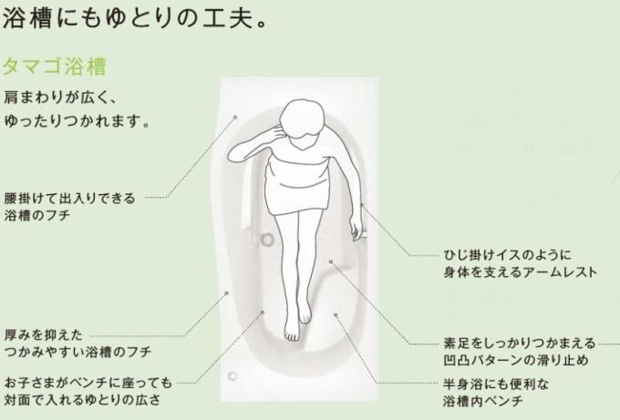 たまご浴槽