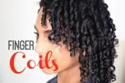 finger coils natural hair