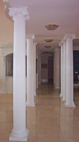 Exterior Wood Porch Columns