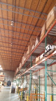 Pallet Positions available in SAFE West Sacramento business district.