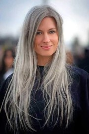 natural grey hair enhance