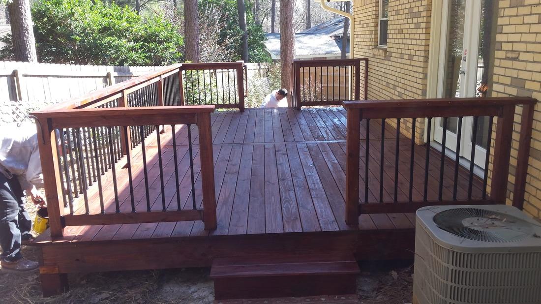 Paint/Stain Decks