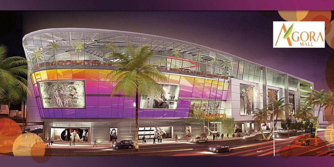 Fachada de Ágora Mall, Santo Domingo