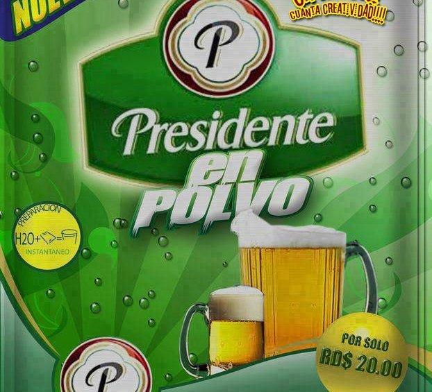 Nueva presentación: Cerveza Presidente en polvo