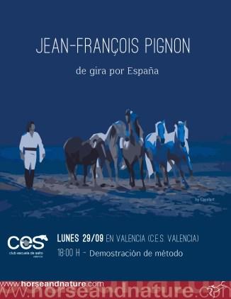 Cartel campaña Visita a España de Jean François Pignon.