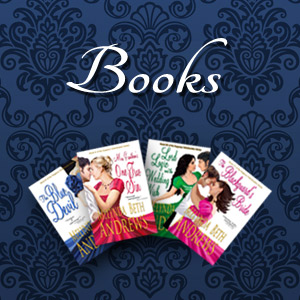 four of Melynda Andrews' book covers