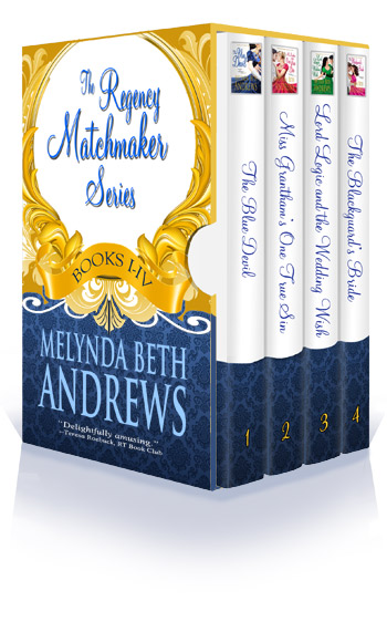 The Regency Matchmaker Series, Books I - IV, Box Set