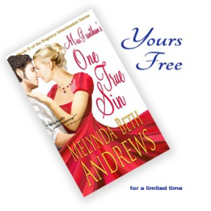 Miss Grantham's One True Sin, Yours Free (for a limited time)