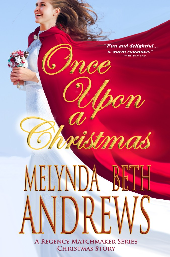 Once Upon a Christmas by Melynda Beth Andrews, front cover