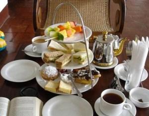 An Afternoon Tea Table