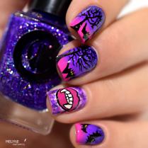 nail-art-chica-vampiro-tutorial-vampire-et-chauve-souris-1