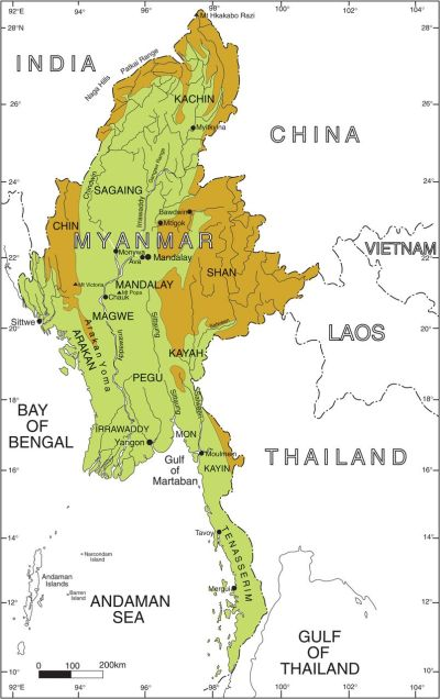 Chapter 1 Introduction to the geology of Myanmar ...