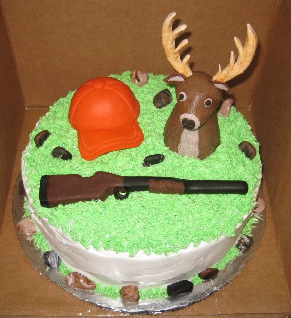 Deer Hunting Happy Birthday Cake Vtwctr