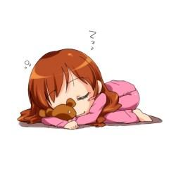 sleeping anime sleep chibi sleepy bed kawaii go chibis ready getting harajuku beds characters