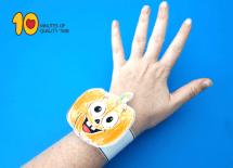 Halloween Pumpkin Printable Bracelet 10 Minutes of