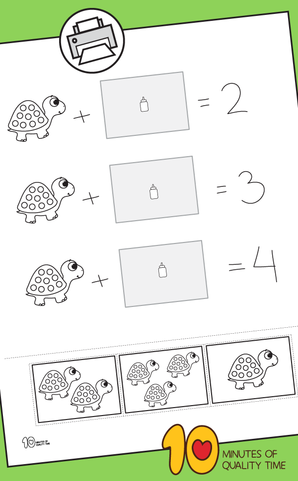 Turtle Math : turtle, Addition, Within, Turtle, Paste, Minutes, Quality