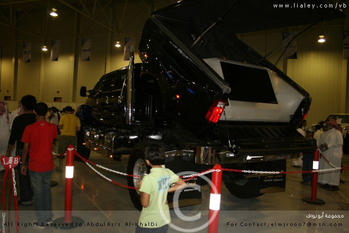 معرض الظهران الدولي الثاني للسيارات المعدلة , ج2