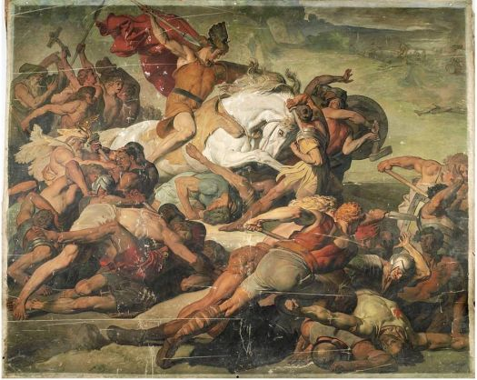 The Roman army was massacred in the Battle of Teutoburg Forest in 9 AD.