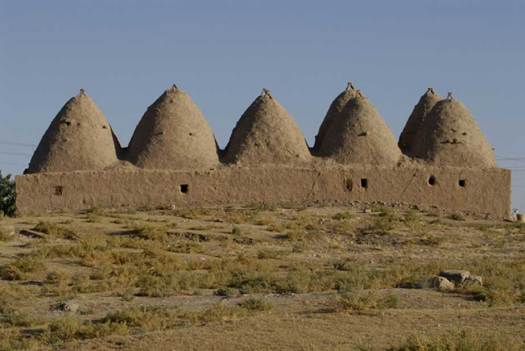 """Beehive houses"" of ancient Harran (in modern Turkey)"
