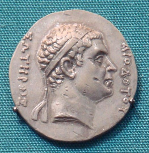 Diodotus I Soter, leader of the Bactrians.